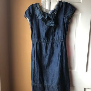 Anthropologie Jean Dress